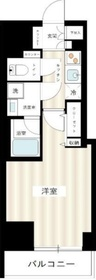 ブレシア日本橋蛎殻町7階Fの間取り画像