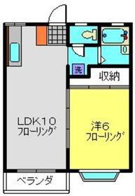 東山田駅 徒歩18分1階Fの間取り画像
