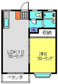 仲町台駅 徒歩18分1階Fの間取り画像