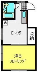 パールハイムA3階Fの間取り画像