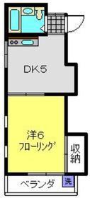 Kハウス2階Fの間取り画像
