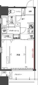 the TACT YOKOHAMA7階Fの間取り画像