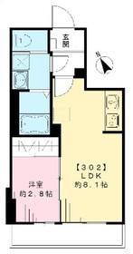 TMブジョー3階Fの間取り画像