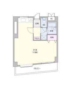ロイヤルビレッジ4505階Fの間取り画像