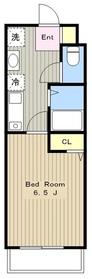 セディア玉川学園2階Fの間取り画像