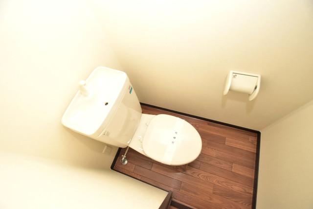 Blanc fleur(ブランフルール)B スタンダードなトイレは清潔感があって、リラックス出来ます。