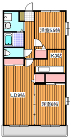 地下鉄成増駅 徒歩7分3階Fの間取り画像
