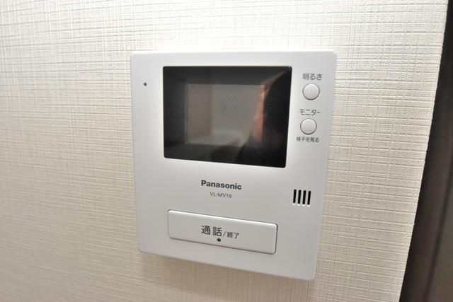 横沼町1-9-12 貸家 TVモニターホンは必須ですね。扉は誰か確認してから開けて下さいね
