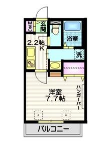 Maison SHU1階Fの間取り画像