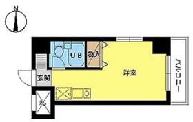 スカイコート西川口第85階Fの間取り画像