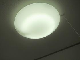 大きな照明付きです☆