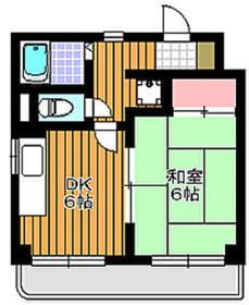 東武練馬駅 徒歩11分4階Fの間取り画像