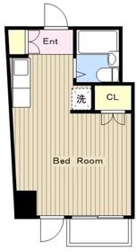 日野屋第2ビル7階Fの間取り画像