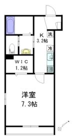 泉 壱番館4階Fの間取り画像