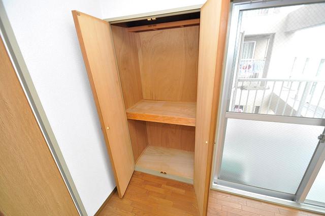 エンゼルハイツ小阪本町 もちろん収納スペースも確保。いたれりつくせりのお部屋です。