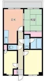 アメニティプラザB5階Fの間取り画像