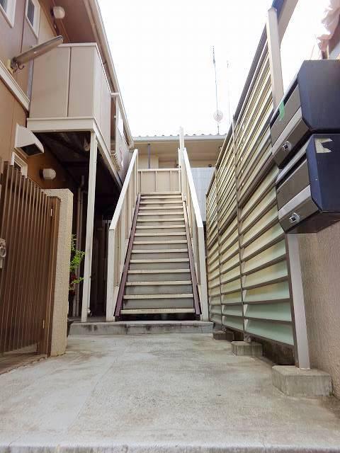 綱島駅 徒歩12分エントランス