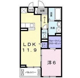 ディア フレンズ3階Fの間取り画像