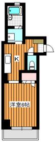 地下鉄成増駅 徒歩2分3階Fの間取り画像