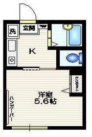 メゾングリーン1階Fの間取り画像
