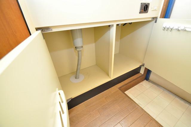 コボックス キッチン下収納スペースしっかりあります。