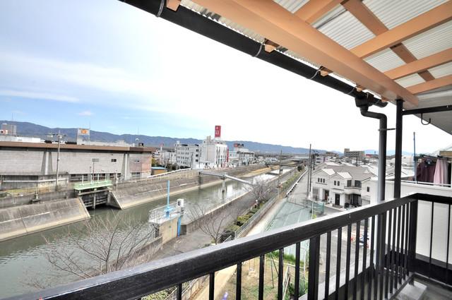 第2シャトー新町 バルコニーからの眺めも良いです。