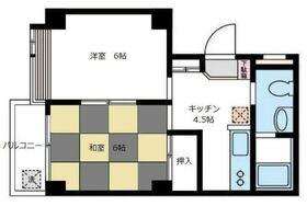 DIVINE片倉町(ディバインカタクラチョウ)1階Fの間取り画像