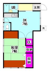 石井荘 2-1号室