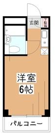 TOP東村山1階Fの間取り画像