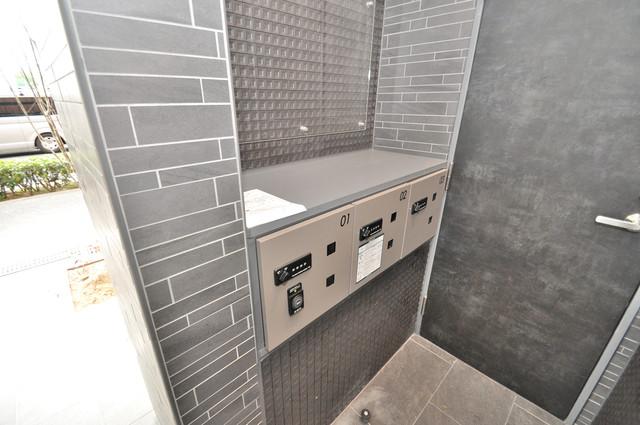 プリエール高井田 宅配ボックスがあると大変便利ですね。