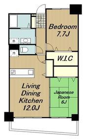 アンソレイエアオキ3階Fの間取り画像