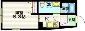 コンポジット久が原4階Fの間取り画像