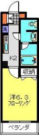 日吉駅 徒歩9分3階Fの間取り画像