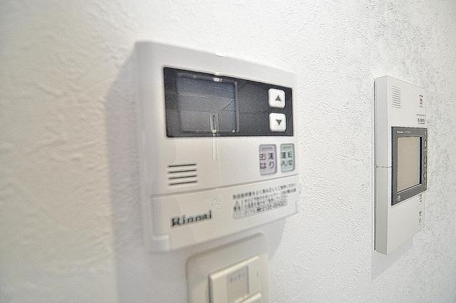 ヴェルテックス 給湯リモコン付。温度調整は指1本、いつでもお好みの温度です。