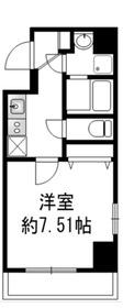 パウロニアバレーテイク4西横浜2階Fの間取り画像