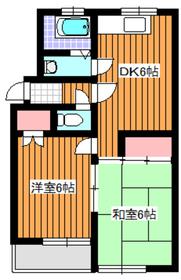 和光市駅 徒歩3分1階Fの間取り画像