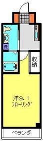 YAMAKI二俣川3階Fの間取り画像