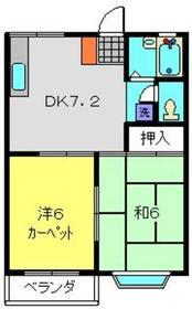 鶴ヶ峰駅 バス10分「築池」徒歩1分1階Fの間取り画像