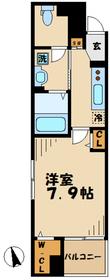 読売ランド前駅 徒歩7分3階Fの間取り画像