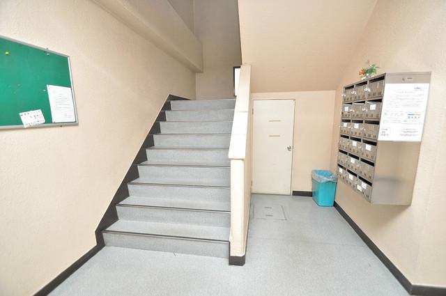 ハイツ片岡Ⅱ エントランス内には各部屋毎のメールボックスがあります。