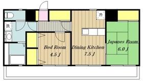 海老名駅 徒歩12分4階Fの間取り画像
