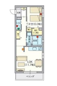 ヘーベルVillage 椎名町2階Fの間取り画像