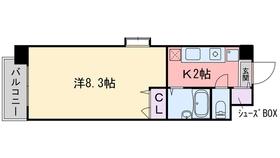 ルモールTJ2階Fの間取り画像