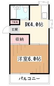 パークサイド久米川2階Fの間取り画像