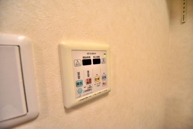 セレブ西上小阪 浴室乾燥機がついていますよ。