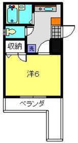 シーガル横浜2階Fの間取り画像