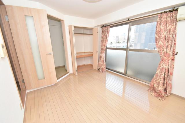 カインド高井田 窓があるので風通しが良く、快適な睡眠がとれそうですね。