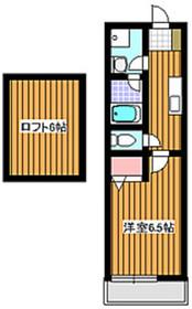 グリムコート2階Fの間取り画像
