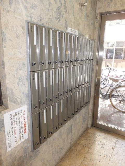 スカイコート川崎8エントランス
