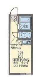 アパートメンツ横浜妙蓮寺1階Fの間取り画像